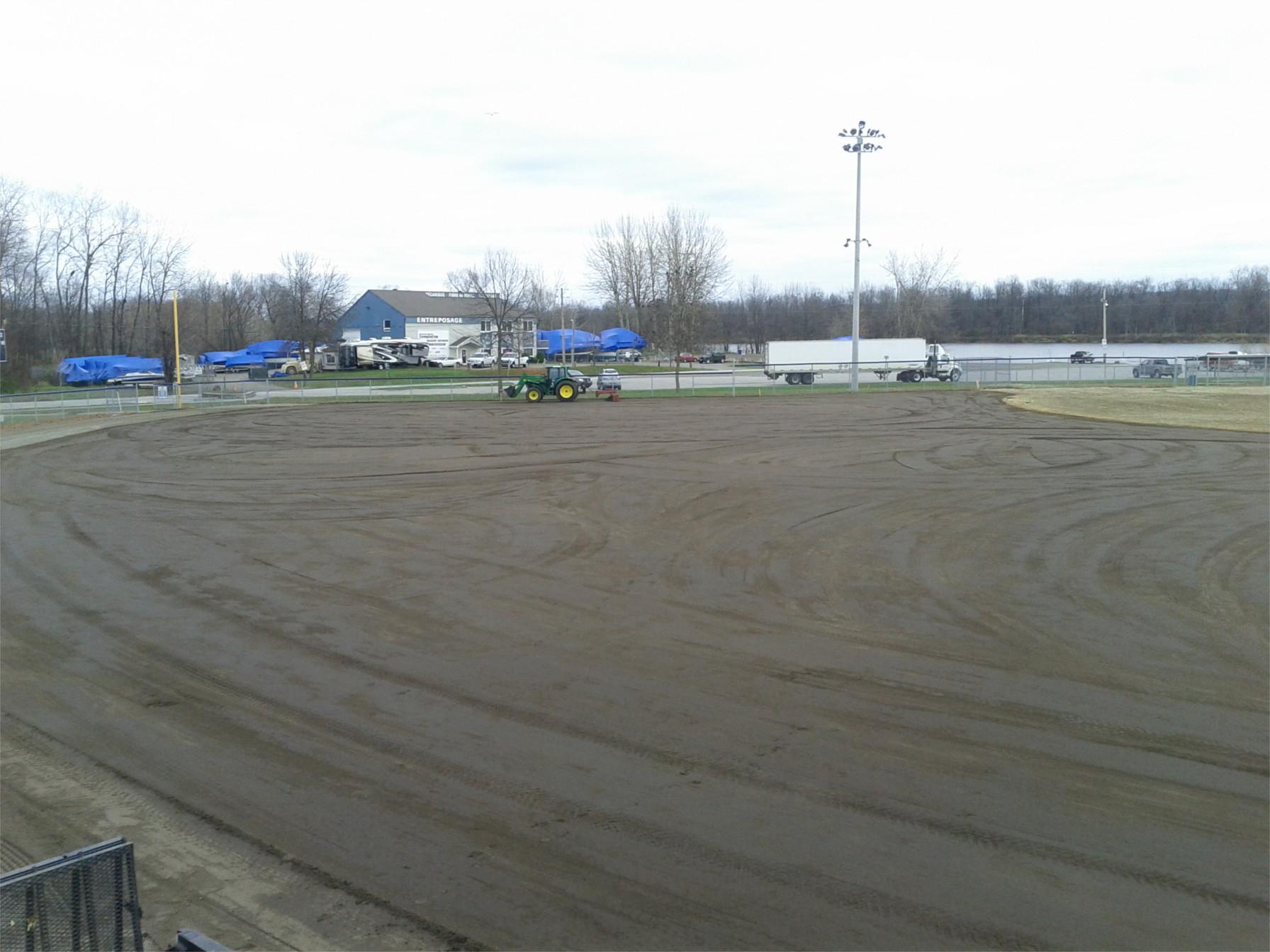 Construction de plateau sportif